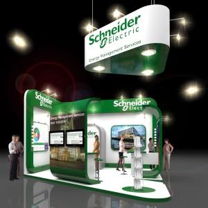 Vakbeurs Energie Schneider Electric