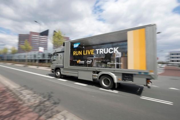 SAP run live truck 15