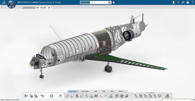Illustration 5 - 3DExperience platform aerospace