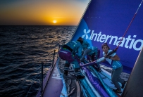 Leg 01, Alicante to Lisbon, Day 6 on board AkzoNobel. Photo by Konrad Frost/Volvo Ocean Race. 28 October, 2017